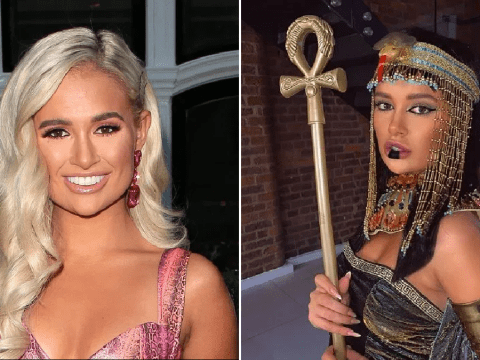 Love Island's Molly-Mae Hague accused of 'cultural appropriation' over Cleopatra Halloween costume