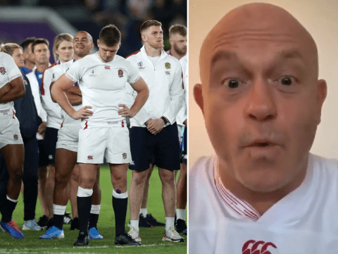 Emotional Ross Kemp responds as England lose to South Africa in Rugby World Cup final