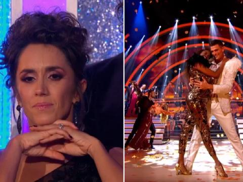 Strictly fans concerned as Janette Manrara misses group dance