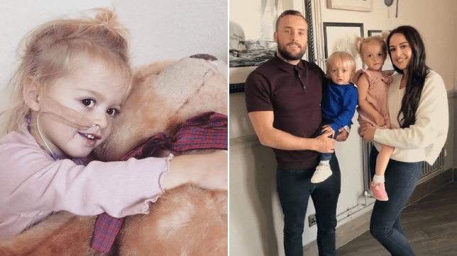 Doctors thought a girl had a virus, 2, but it was a rare form of cancer