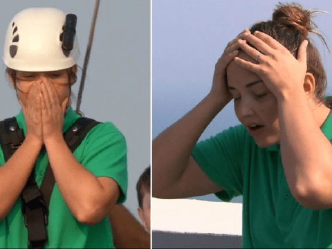 I'm A Celebrity's Jacqueline Jossa terrified as she takes on plank in first challenge