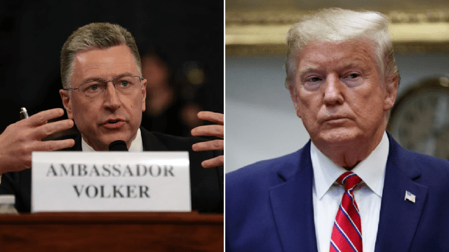Donald Trump defender dramatically changes his story during impeachment hearings
