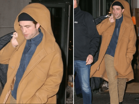 Robert Pattinson keeps head down in New York after causing chaos with Batman role