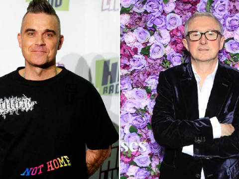 Robbie Williams blasts 'feeble' Louis Walsh over Ayda Field X Factor dig