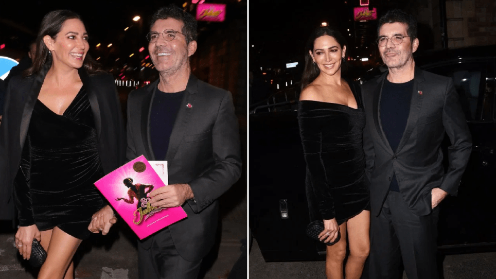 Trim Simon Cowell is fab-u-lous as he looks loved-up with Lauren Silverman following 20lb weight loss