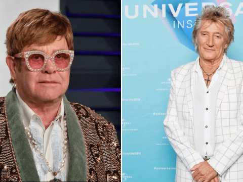 Rod Stewart falls out with Elton John as he calls farewell tour 'money grabbing'