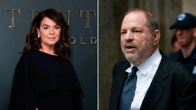 Annabella Sciorra Harvey Weinstein