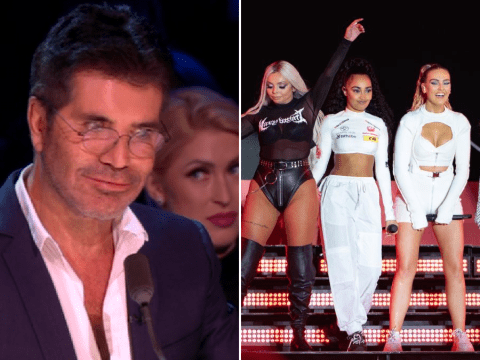 Simon Cowell takes swipe at Little Mix's new talent show claiming it's fit for 'X Factor: The Band rejects'