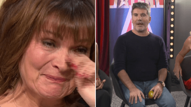 Simon Cowell calls Lorraine Kelly 'fit' on surprise birthday video message – and there were lots of tears
