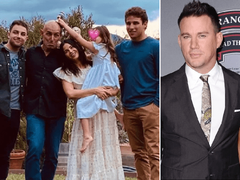 Jenna Dewan spends Thanksgiving with daughter Everly as custody row with Channing Tatum 'turns nasty'