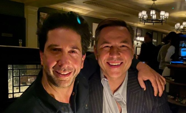 David Walliams and David Schwimmer are the duo we never knew we needed on dinner date