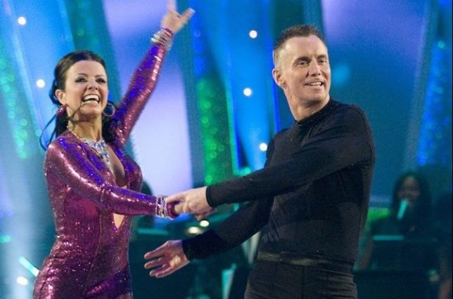 Gary Rhodes with Karen Hardy on Strictly Come Dancing in 2008