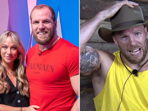 I'm A Celebrity: Chloe Madeley sides with husband James Haskell after clash with Coronation Street's Andrew Whyment