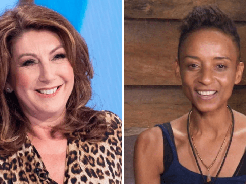 Jane McDonald 'absolutely thrilled' about Adele Roberts' bringing framed photo of her into I'm A Celebrity camp