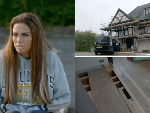 Katie Price's 'mucky mansion' lies in ruins as she's declared bankrupt: 'I feel so stupid'