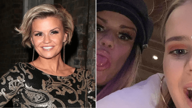 Kerry Katona and daughter Molly