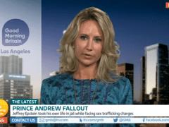Lady Victoria Hervey discounts Jeffrey Epstein's sex trafficking on Good Morning Britain