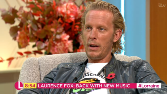 Laurence Fox on Lorraine Kelly
