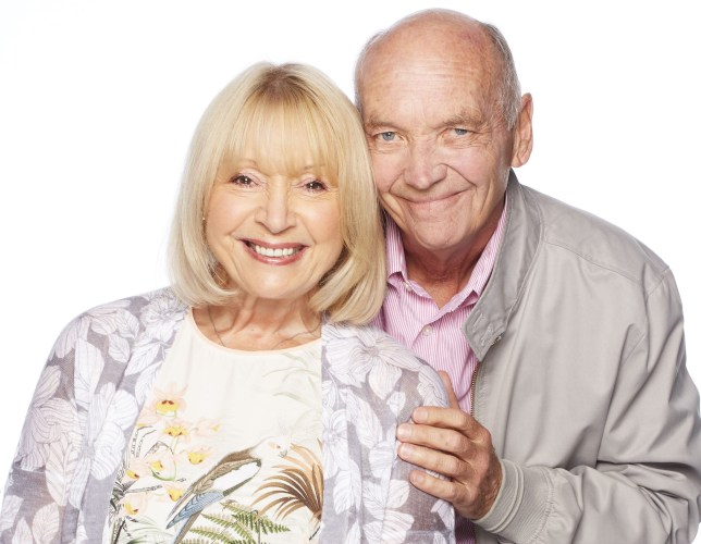 Les and Pam Coker in EastEnders