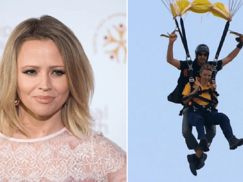 Kimberley Walsh was 'streaming with tears' as she watched Nadine Coyle on I'm A Celebrity