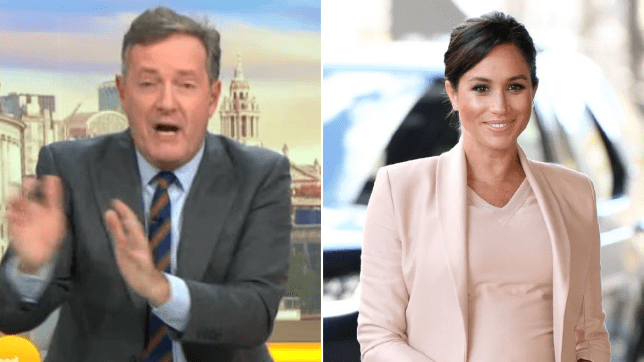 Piers Morgan bashes Meghan Markle for 'playing victim card for attention'