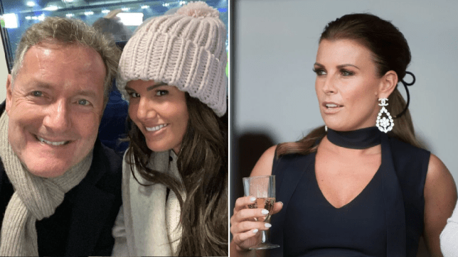Piers Morgan teams up with Rebekah Vardy as he pokes fun at Coleen Rooney WAG war with football selfie