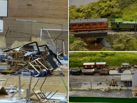 Model railway exhibition destroyed by vandals rebuilt using £107,000 of donations
