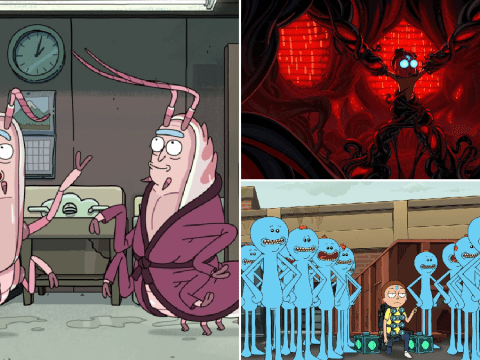 Rick and Morty season 4 first look is darker than ever as an obsessed Morty recruits Meseeks and Rick gets shrimpy