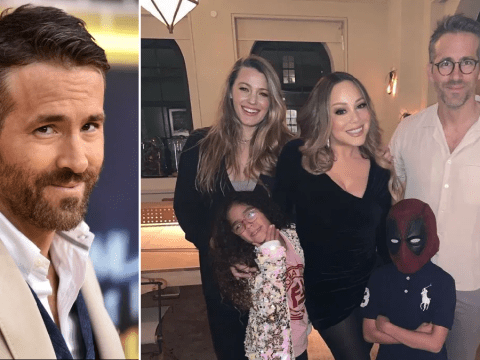 Ryan Reynolds has the best response to sweet snap of wife Blake Lively, Mariah Carey and her kids