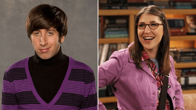 The Big Bang Theory's Howard and Amy