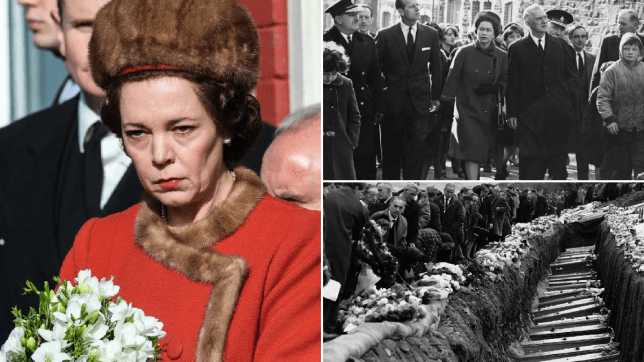 The Crown season 3: Aberfan disaster portrayal proves hard to watch as viewers praise heartbreaking scenes