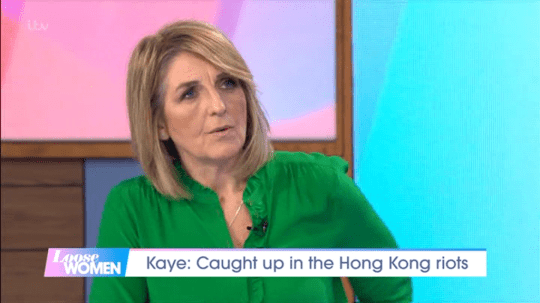 Kaye Adams Loose Women