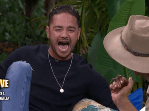 Adam Thomas reduced to tears on I'm a Celebrity…Extra Camp as he's pranked with giant spider