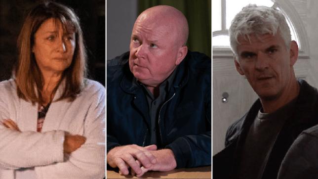 Wendy Posner in Emmerdale, Phil Mitchell in EastEnders and Robert Preston in Coronation Street