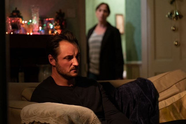 Martin and Sonia Fowler in EastEnders