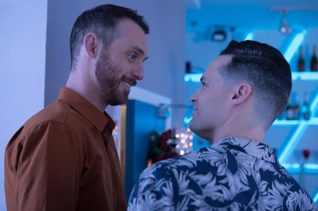 Hollyoaks spoilers: Gregory Finnegan and Jude Monk McGowan reveal future for James Nightingale and Liam Donovan after steamy kiss