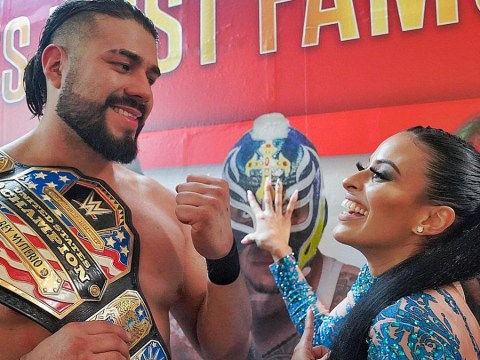 WWE superstar Andrade suspended for 30 days after first wellness policy violation