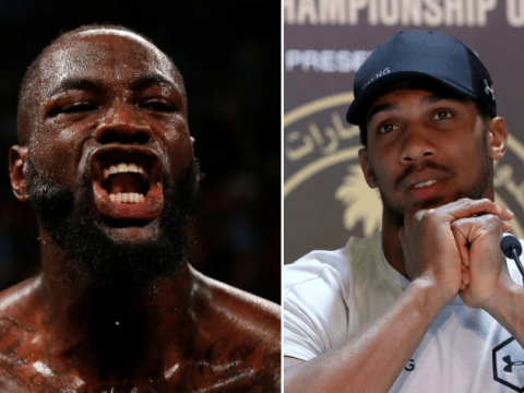 Anthony Joshua responds to Deontay Wilder's scathing criticism of his tactics against Andy Ruiz