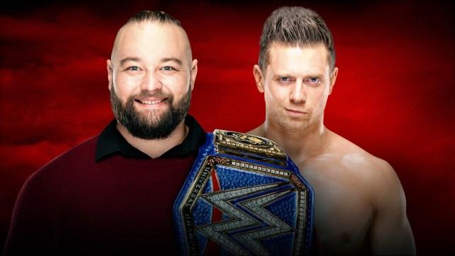 Bray Wyatt and The Miz (Credit: WWE)