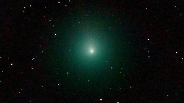 A 'comet outburst' lit up the far reaches of space in 20-day explosion