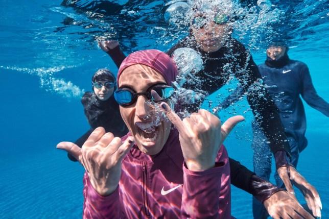 Image result for nike to release hijab swim swimwear