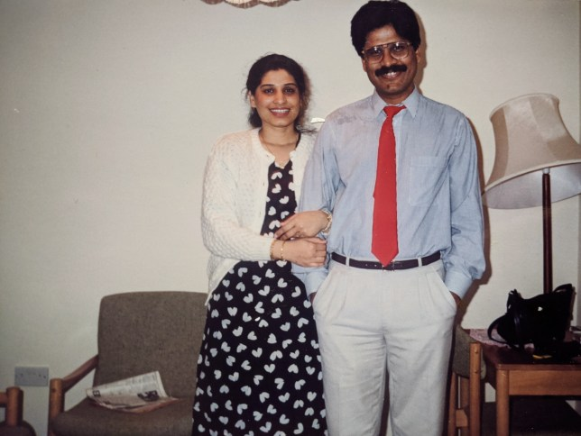 Neha and her father