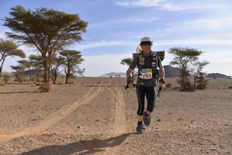 Fiona Oakes running