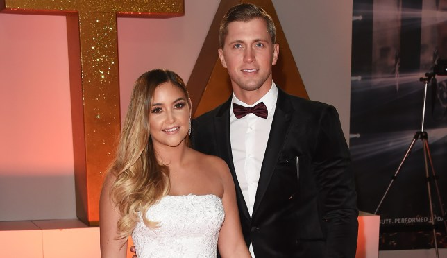 LONDON, ENGLAND - JANUARY 22: Jacqueline Jossa (L) and Dan Osborne attend the National Television Awards held at The O2 Arena on January 22, 2019 in London, England. (Photo by David M. Benett/Dave Benett/Getty Images)