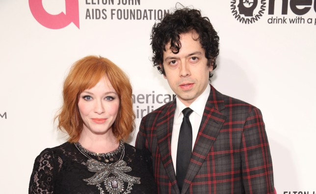 Mad Men's Christina Hendricks 'files for divorce from Geoffrey Arend' after 10 years of marriage