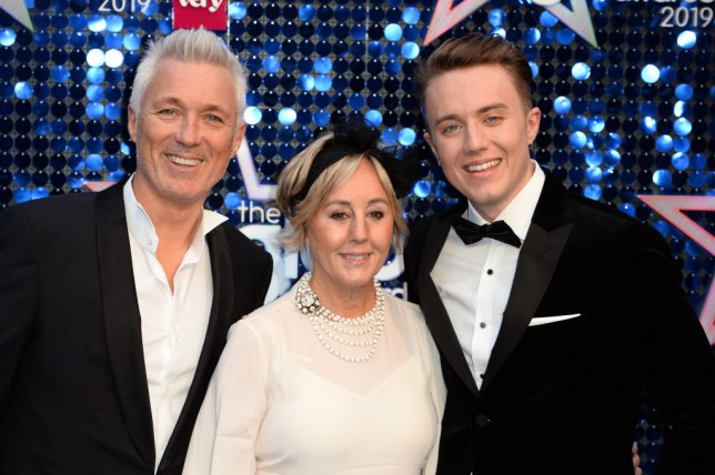 Roman Kemp with dad Martin Kemp and Shirley Kmep
