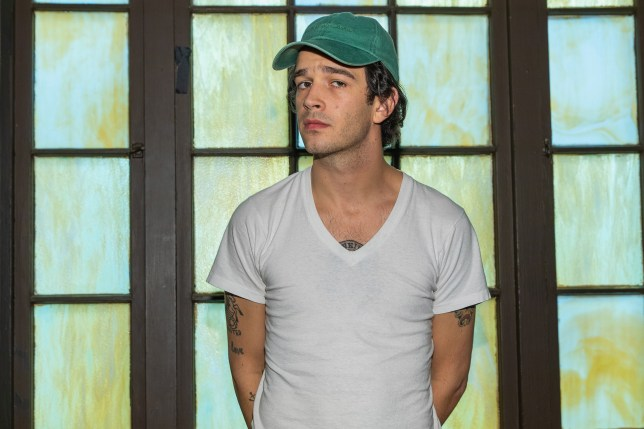 Matt Healy lashes out at 'uncomfortable' headline branding him 'aesthete'