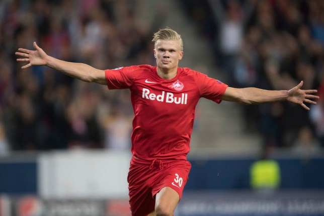 Erling Haaland is a target for Manchester United