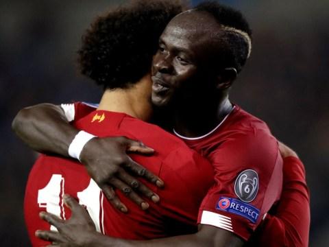 Alex Oxlade-Chamberlain teases greedy Liverpool duo Sadio Mane and Mohamed Salah