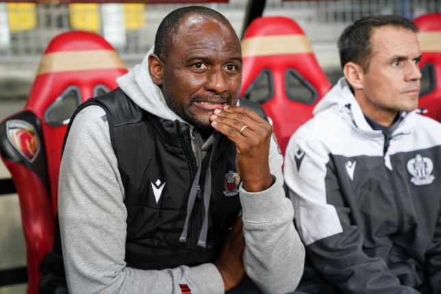 Patrick Vieira is rumoured to be on Arsenal's shortlist of candidates to replace Unai Emery